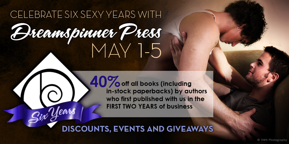 Dreamspinner Press 6th Anniversary