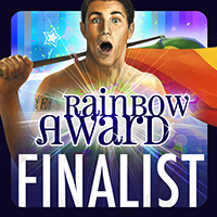 Rainbow Award Finalist badge by Paul Richmond